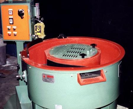 Vibra VF-7 Batch Bowl Style Vibratory Finishing Machine