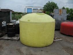 Vibra Finish Ltd Used Plastic Tank 1400 Gallon