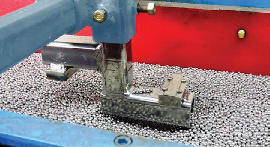 Vibra Finish Ltd Vibratory Peening. Promising Performance