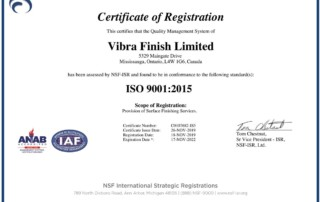 Vibra Finish Ltd News & Articles